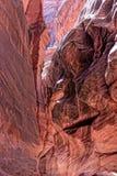 Acantilados Barranco-bermellones Wildernessss de AZ-Paria fotografía de archivo