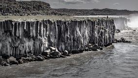 Acantilados basálticos Asbyrgi fotos de archivo libres de regalías