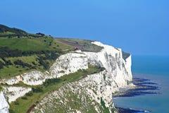 Acantilados blancos de Dover Imagenes de archivo