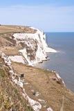 Acantilados blancos de Dover Imagen de archivo libre de regalías