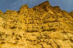 Acantilados de la piedra arenisca de la bahía del oeste Fotos de archivo