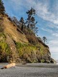 Acantilados de la playa fotos de archivo libres de regalías