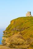 Acantilados de la torre Irlanda de Moher y de OBriens Imagen de archivo