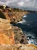 Acantilados de Mallorca imagenes de archivo