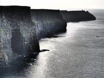 Acantilados de Moher Foto de archivo libre de regalías