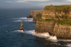 Acantilados de Moher, Irlanda Fotografía de archivo libre de regalías