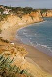 Acantilados de Portugal Fotos de archivo libres de regalías