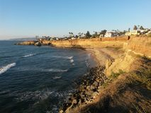 Acantilados de San Diego imágenes de archivo libres de regalías