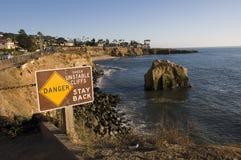 Acantilados de San Diego fotos de archivo libres de regalías