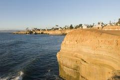 Acantilados de San Diego foto de archivo