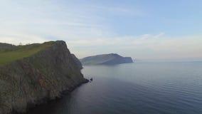 Acantilados del lago Baikal metrajes