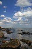 Acantilados del mar fotografía de archivo