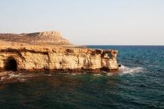 Acantilados del mar Fotos de archivo