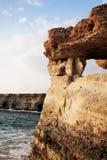 Acantilados del mar Imagenes de archivo