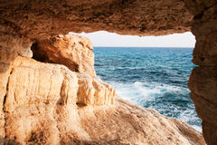 Acantilados del mar Foto de archivo libre de regalías