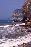 Acantilados del mar Foto de archivo