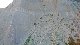 Acantilados en la bahía del oeste Dorset almacen de video