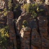 Acantilados rocosos Foto de archivo