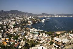 Acapulco übersehen Stockbild