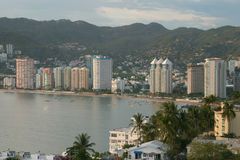 Acapulco. Partial view of Acapulco Bay, Mexico Stock Images
