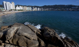 Acapulco Bay. Scenic view of Acapulco bay, Mexico Royalty Free Stock Photos