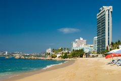 Acapulco Beach. Great view of Acapulco Bay Royalty Free Stock Photography
