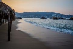 Acapulco-Bucht kurz vor Dämmerung Lizenzfreie Stockfotografie