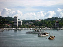 Acapulco city view Royalty Free Stock Photos