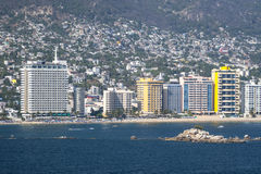 Acapulco city stock image