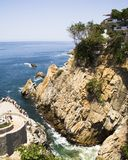 Acapulco Cliff Diving Location Royalty Free Stock Photo