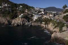 Acapulco Cliffs royalty free stock photos