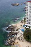 Acapulco coastline Royalty Free Stock Photography