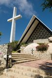 Acapulco Cross and Church Stock Images