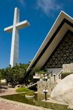 Acapulco Cross and Church Stock Image