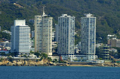 Acapulco Hotels Stock Photography