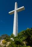 Acapulco-Kreuz und Kirche Stockfotografie