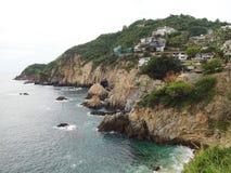 Acapulco-Landspitze Stockfotos