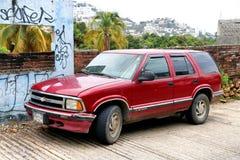 Chevrolet Blazer. Acapulco, Mexico - May 30, 2017: Motor car Chevrolet Blazer in the city street royalty free stock photos