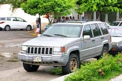 Jeep Grand Cherokee. Acapulco, Mexico - May 30, 2017: Motor car Jeep Grand Cherokee in the city street Stock Photography