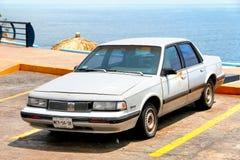 Oldsmobile Cutlass Ciera. Acapulco, Mexico - May 31, 2017: Motor car Oldsmobile Cutlass Ciera in the city street Stock Photography