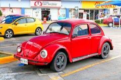 Volkswagen Beetle. Acapulco, Mexico - May 30, 2017: Motor car Volkswagen Beetle in the city street Stock Images