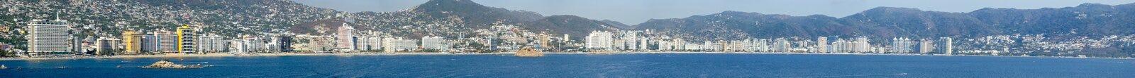 Acapulco-Panorama Stockbilder