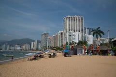 Acapulco plaża Zdjęcia Stock