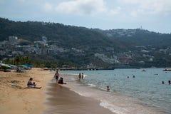 Acapulco plaża Zdjęcie Royalty Free