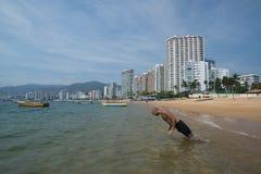 Acapulco plaża Obrazy Stock