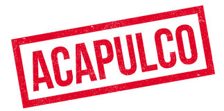 Acapulco rubber stamp Royalty Free Stock Photo