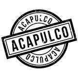 Acapulco rubber stamp Stock Image