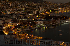 Acapulco's Zocolo area stock photo