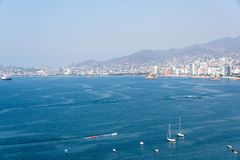Acapulco-Schacht Mexiko Lizenzfreies Stockbild