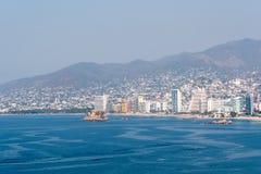 Acapulco-Schacht Mexiko Lizenzfreie Stockfotos